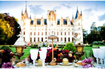 Le meilleur des châteaux de la Loire pour un mariage magique !