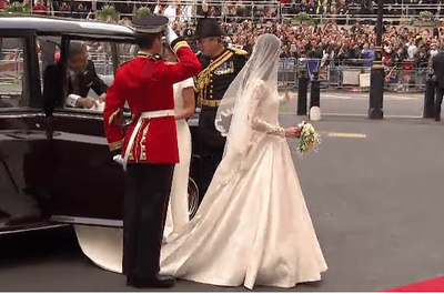 Kate Middleton's Royal Wedding Dress by Sarah Burton for Alexander McQueen