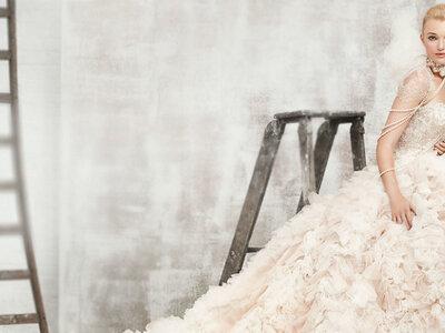 Vestidos de noiva Kenneth Winston primavera 2017: Luxo e brilho!
