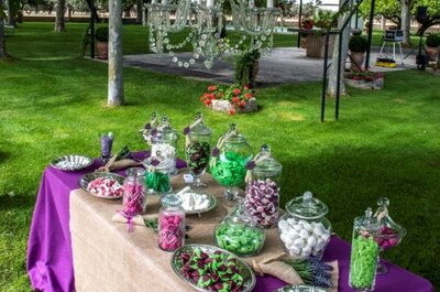 Los candy bar más dulces: 5 ideas originales para tu boda con Little Moments by Anna&Lola