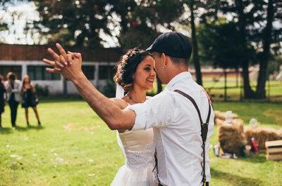 10 canciones para el primer baile de esposos. ¡Ninguna es el vals!