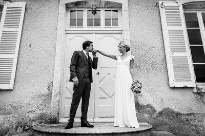 Clémence & Antoine : un mariage fleuri et naturel au coeur d'une magnifique Abbaye !
