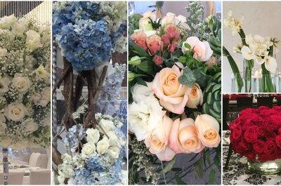 5 decoraciones para 5 novias: Descubre la tendencia en decoración floral ideal para tu boda