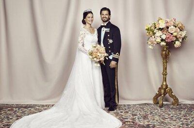 Boda Real en Suecia: el príncipe Carlos Felipe y Sofia Hellqvist contraen nupcias