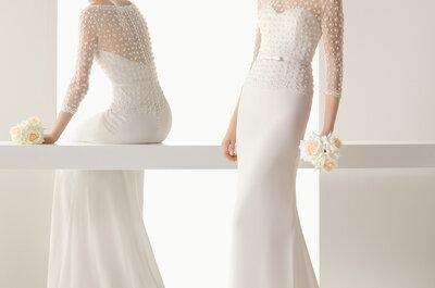 Sanfte Details der Brautkleider-Kollektion 2015 von Rosa Clará