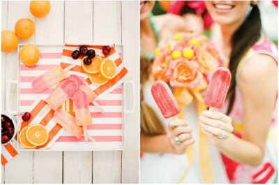 Vibrant citrus colours for your summer wedding