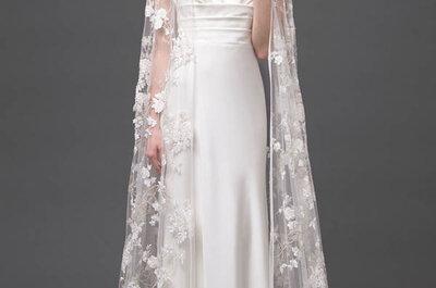 Para verte espectacular en tu boda, sólo te hace falta un vestido de novia 2015 de Alberta Ferretti