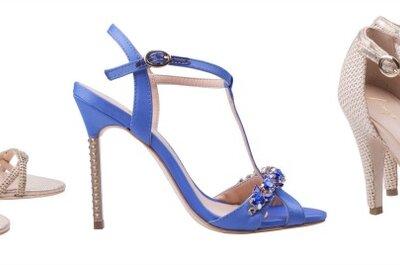 3 opções de sapatos de noiva para o verão