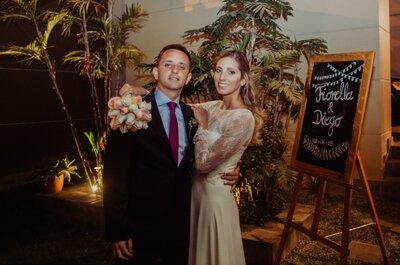 Fiorella y Diego, disfrutemos de su boda rústica llena de encanto