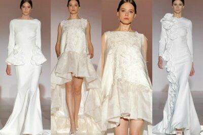 Collezione abiti da sposa 2015: suggestioni marine con il maxi Volant