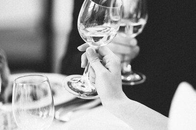 Hochzeitsinspirationen für Ihre Winterhochzeit 2015: So feierte dieses Brautpaar eine romantische Hochzeit im Winter!