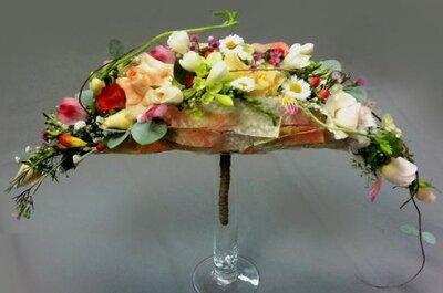 Moda en ramos de novia 2013