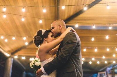 Natália e Filipe: festa de casamento linda e rústica com detalhes DIY únicos