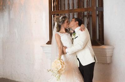 Como un verdadero cuento de hadas, así fue la boda de Nina y Leo