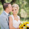Un bouquet de mariée original et lumineux. Photo: Danielle Capito