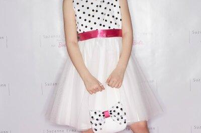 Kolekcja Suzanne Ermann dla Barbie- wyjątkowe sukienki dla dziewczynek.