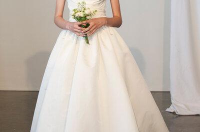 Una princesa encantadora se esconde en los vestidos de novia primavera 2015 de Marchesa