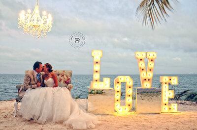Crea recuerdos espectaculares de tu boda en la Riviera Maya