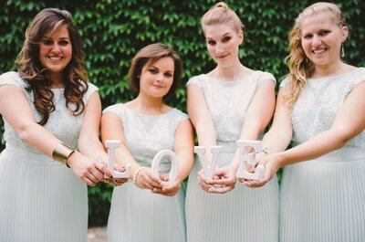 Wat te dragen naar een bruiloft? Op basis van verschillende locaties