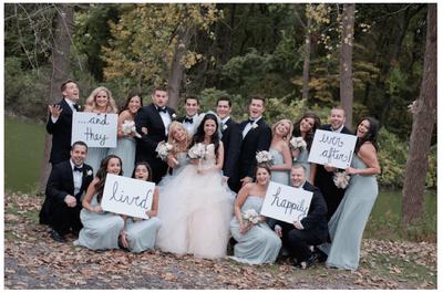 Real Weddings: La boda de cuento de hadas que siempre soñaste ¡es una realidad!