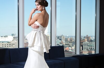Elegance and the Whaw Factor from the 2014 Justin Alexander Signature Collection