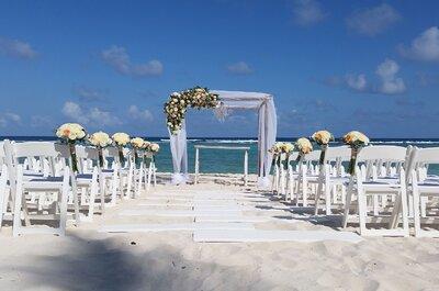 ¡Decídete por La Riviera Maya para tu boda!