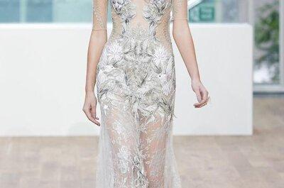 Apliques, mosaicos, flores y siluetas ceñidas: Los vestidos de fiesta 2015 de Julien Macdonald más lindos del mundo