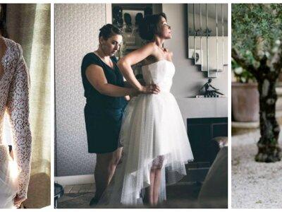 A Avignon, la créatrice Nany'n vous aiguille réalise la robe de mariée de vos rêves !