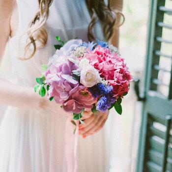 Buquês de noiva coloridos para 2015: seu look perfeito de primavera-verão!