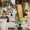 Decoración de boda con divertidas letras - Foto Studio 222 Photography