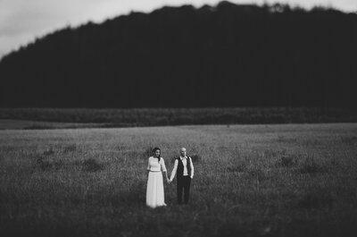 La naturaleza protagonista en tus fotografías de matrimonio.