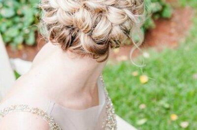 Penteados de noiva 2015: Espera-se tudo, menos uma noiva despenteada!