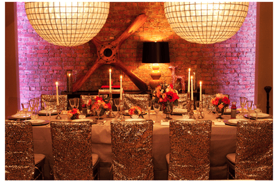#MartesDeBodas: Decoración de boda en color dorado