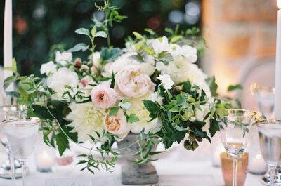 Una boda fresca y con estilo shabby chic: Enamórate de esta decoración ultra femenina para tu boda