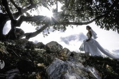 Fotografías artísticas para el día de tu boda, conoce a Novias Premier y su original estilo