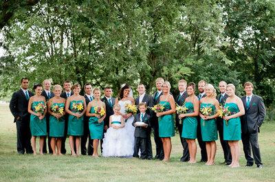 Inspiración: boda en aguamarina
