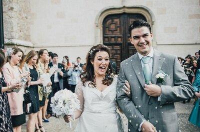 Pieces & puzzles - The real wedding of a wedding planner in the Parador of Alcalá de Henares