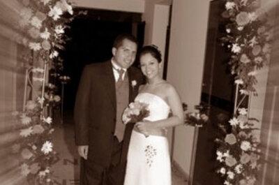 Fotografías de boda en color sepia