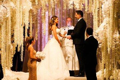 ¡Así fue la boda de Sofía Vergara y Joe Manganiello! Una ceremonia llena de magia