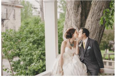 Real Wedding: La ecuación perfecta de estilo en dorado y menta