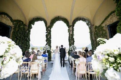 Un matrimonio esclusivo nella Villa Balbianello sul lago di Como