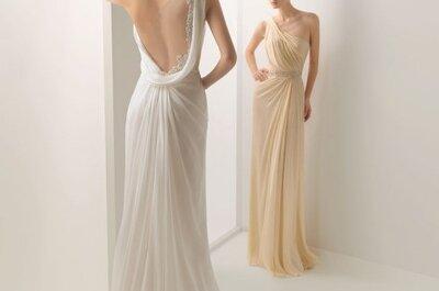 Propositions de robes de mariée à dos nu