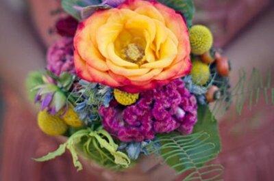 Bukiety ślubne 2013: 3  najważniejsze trendy