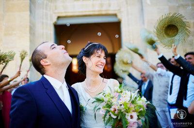 Adeline et Eric : un mariage champêtre en Gironde orné de sublimes détails DIY