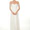Vestido de novia 2013 con escote en corazón y mangas con brocados