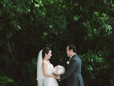 Una ceremonia de ensueño en la exuberancia de Yucatán: Conoce la historia de Cristina y Mauricio