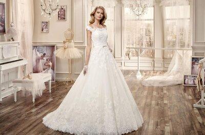 Suknie ślubne kształcie litery A 2016: odcinane pod biustem! Piękne!