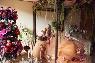 Свадьба Инны и Павла в стиле Dolce&Gabbana: ярко, красиво, роскошно