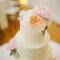 Róże na torcie ślubnym, Foto: Shea Christine Photography