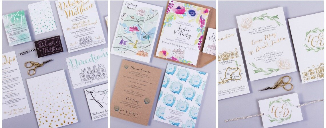 Beautiful wedding invitations to seriously impress your guests!